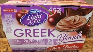 Dannon Light & Fit: Cherry Chocolate Food Review