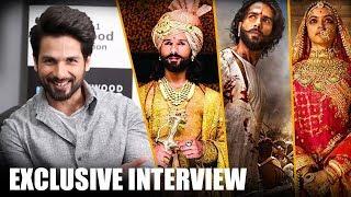 Shahid Kapoor OPENS up on the eventful journey of Padmaavat, Deepika Padukone, Sanjay Leela Bhansali thumbnail