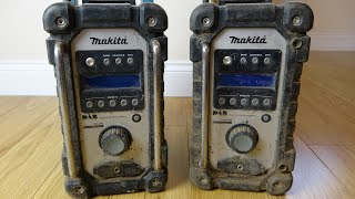 Trying to FIX 2x Makita Building Site Radios - £120 each