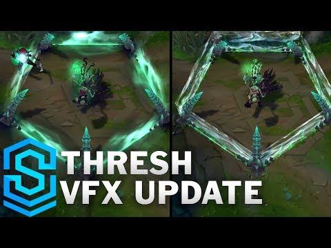Thresh Visual Effect Update Comparison - All Skins | League Of Legends