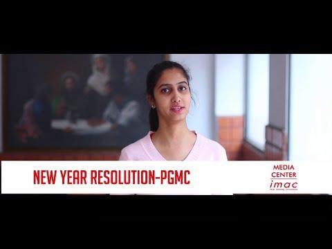 Media Center IMAC PGMC 2018 New Year Resolution
