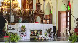 St Anthony's church Siolim | Communion | Easter mass Live : 04-04-2021, 9am