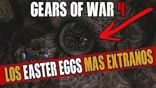 LOS EASTER EGGS MAS EXTRAÑOS DE GEARS OF WAR
