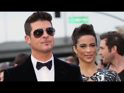 Paula Patton Granted Restraining Order Against Robin Thicke Wins Temporary Custody of Son Julian