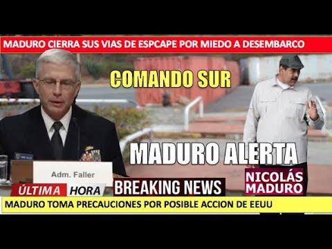 Maduro en alerta por posible desembarco de Marines