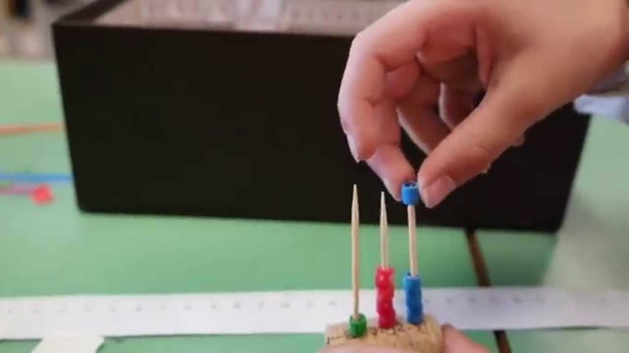 piuttosto economico a prezzi ragionevoli vendita calda Giochi didattici di matematica a scuola elementare: l'Abaco - YouTube
