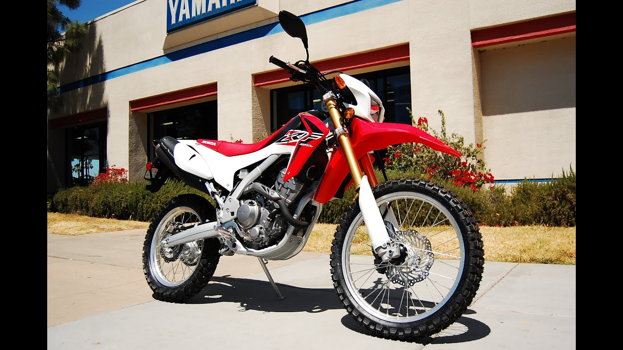 2015 Honda CRF250L - YouTube