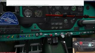 Configuring Gear LEDs with SPAD and Saitek Switch Panel