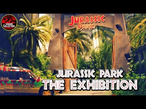 Jurassic Park THE EXHIBITION | Universal Studios | Circa 1994