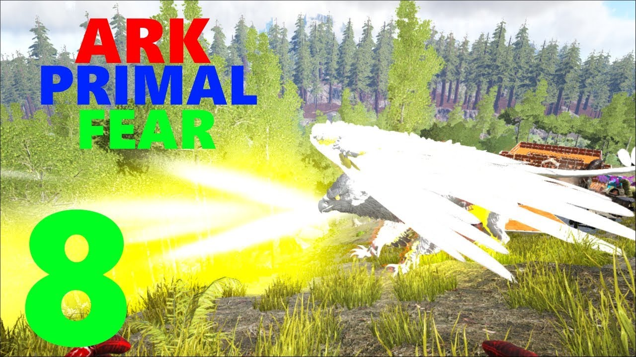 [8] Taming A Light Griffin! (Ark Primal Fear Modpack) by EscoNitz