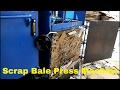 Hydraulic Cardboard, Paper Scraps Baling Press Machine manufacturer By SHRI RAM INDUSTRIES, Jaipur
