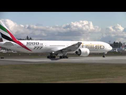 Emirates A6-EGO Taxi Test