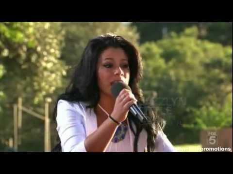 Jazzlynn Little - The X Factor U.S. - Judges Houses - Part 2