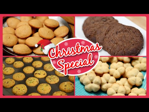 Christmas Special Recipes | Cookies and Biscuits | Quick & Easy To Make Baking Recipes