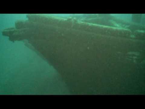 M. Stalker Shipwreck, Straits of Mackinac, Sept. 2008