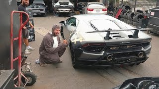 This Huracan is getting Liberty Walked, son!