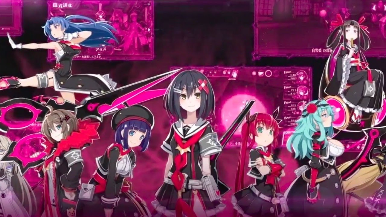 Mary Skelter: Nightmares Official Gameplay Overview Trailer