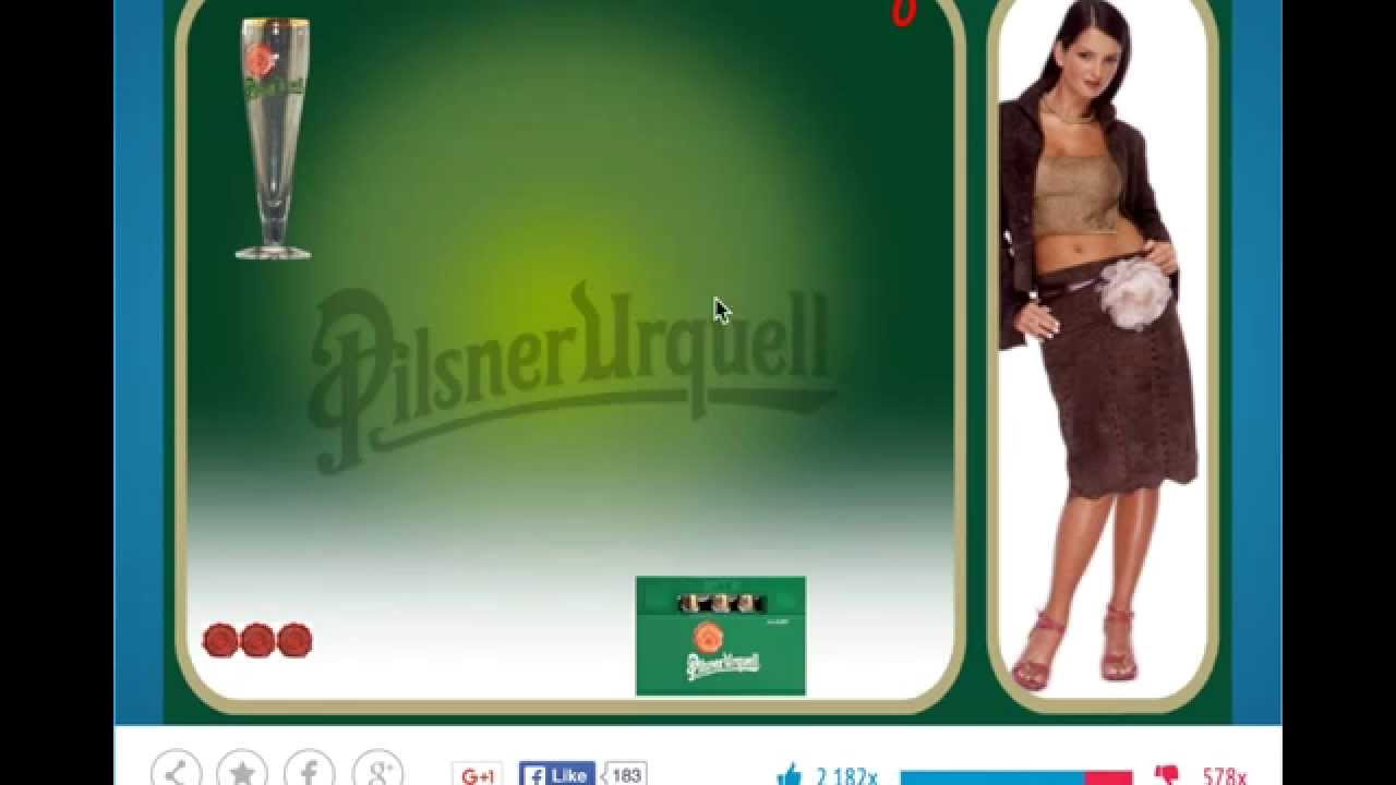 Pilsner Strip Game