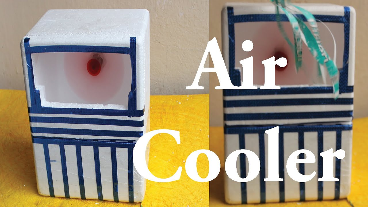 How To Make Mini Air Cooler