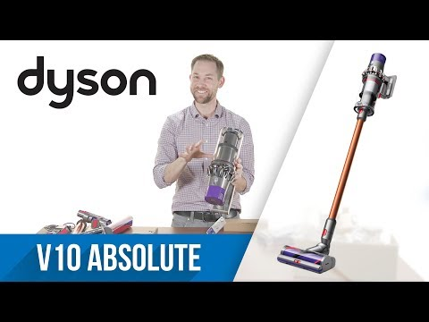Unboxing: Dyson Cyclone V10 Absolute