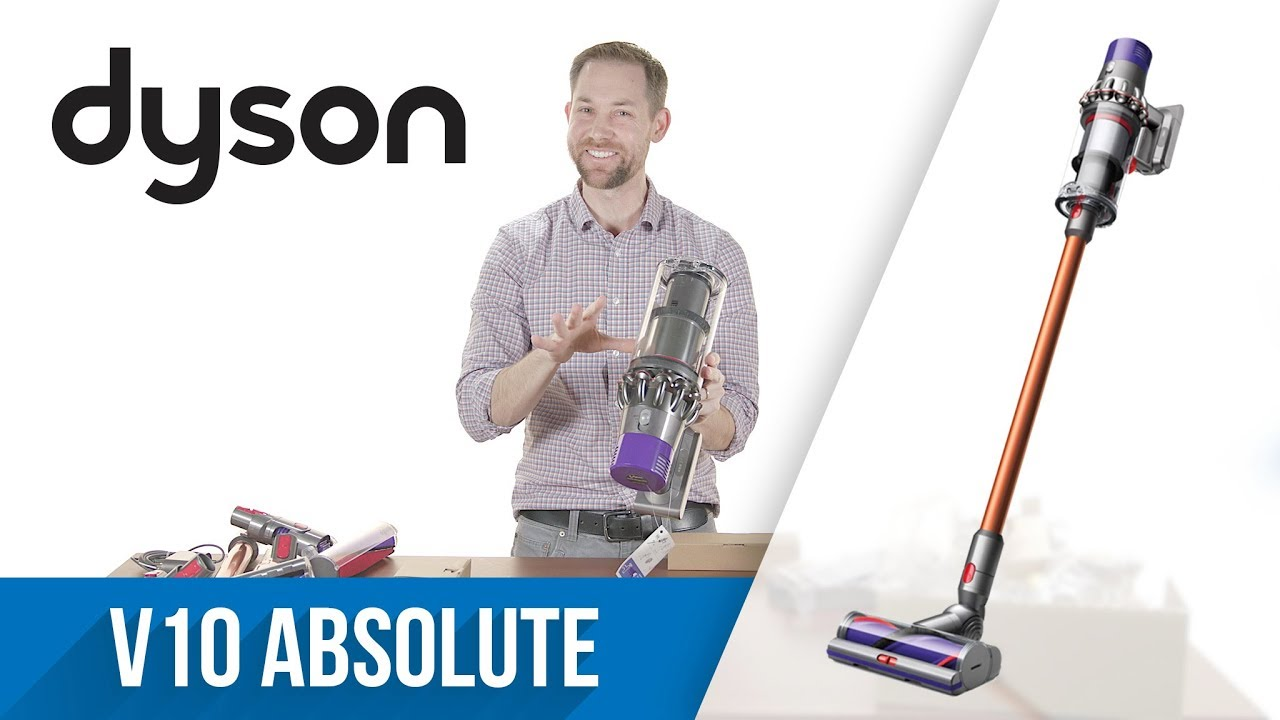 unboxing dyson cyclone v10 absolute youtube. Black Bedroom Furniture Sets. Home Design Ideas