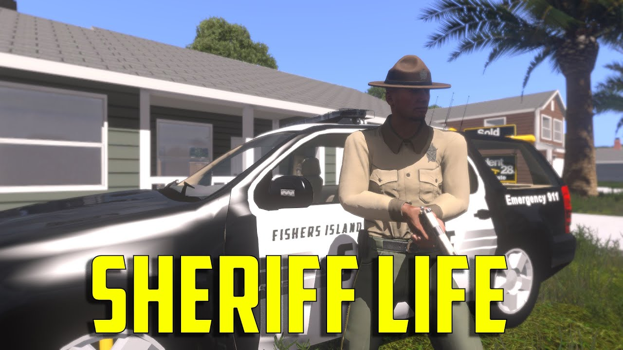 ARMA 3 Project Life - Sheriff Life