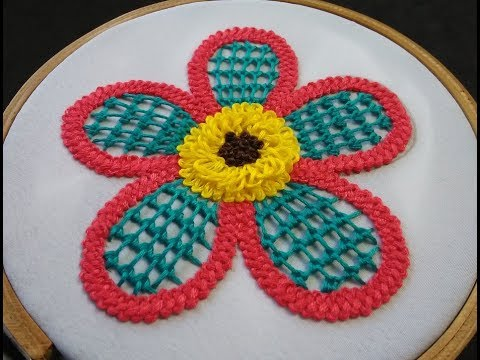 Hand Embroidery - Braid Stitch Embroidery