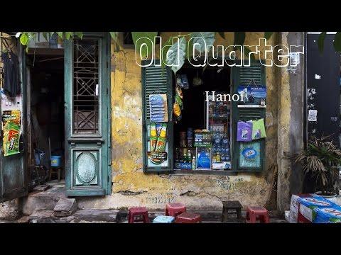 Old Quarter   Hanoi   Vietnam   20th November 2016  