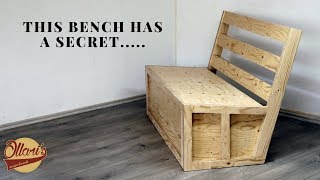 Making a Bench that turns into a Double Bed