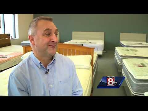 Portland mattress company helping Mainers 'sleep local' for 80 years