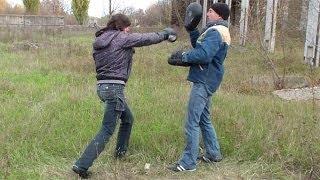 Драка. Как научиться драться. Отработка ударов