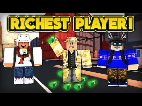 PLAYING WITH THE RICHEST PLAYER IN JAILBREAK! (ROBLOX Jailbreak)