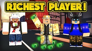 playing with the richest player in jailbreak roblox jailbreak