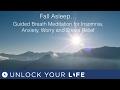 Fall Asleep Guided Breath Meditation for Insomnia, Anxiety, Worry, Stress Relief Deep Sleep 3