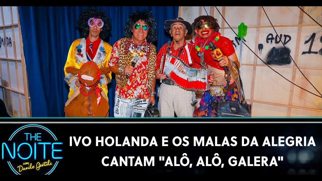 Ivo Holanda e os Malas da Alegria cantam