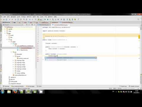 Check Internet connection in Android Studio - YouTube