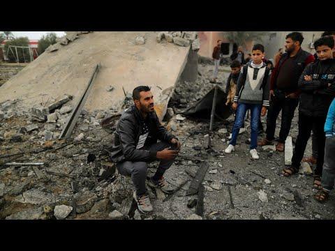 Palestinians, Israeli soldier killed in Gaza Strip raid