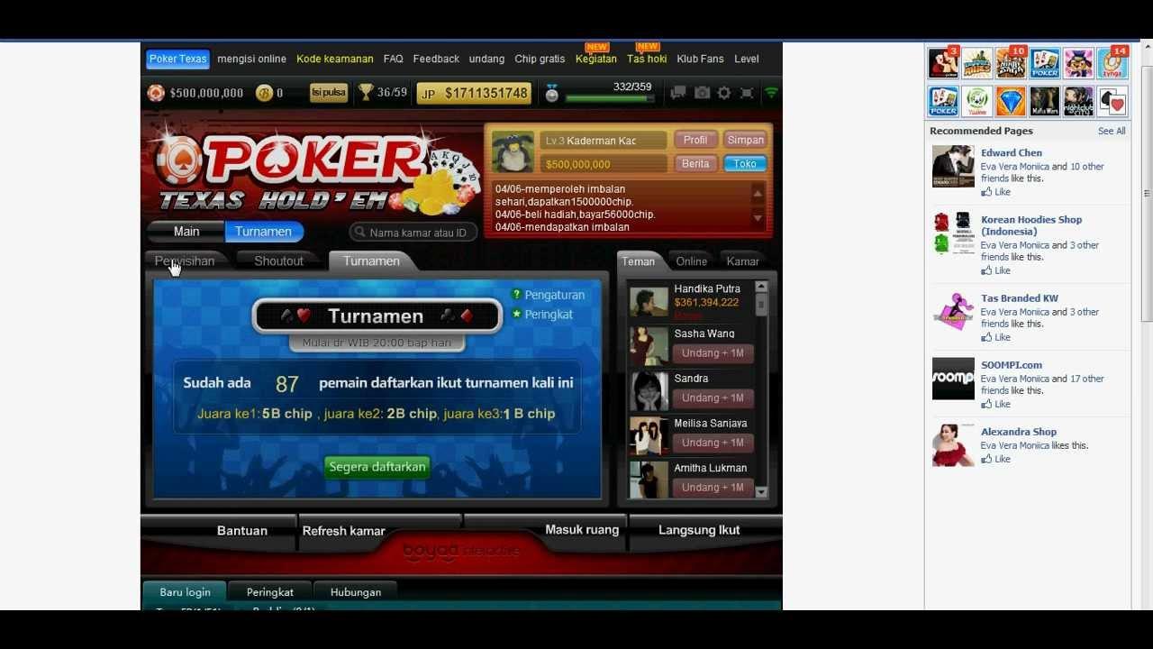 hack chip poker boya shorout tournament... 3april - YouTube