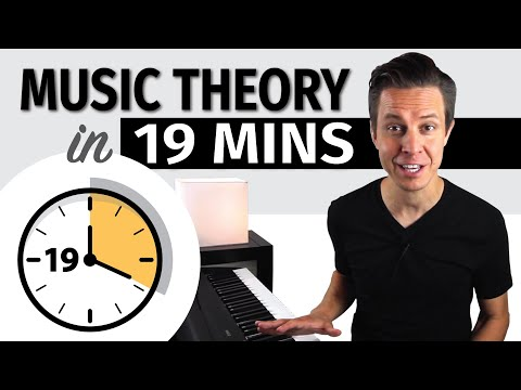 Music Theory in 19 Minutes // Mike George