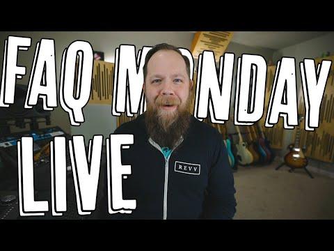 FAQ Monday LIVE - 4/20