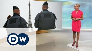 Безопасно ли во Франции на Евро-2016? - DW Новости (14.06.2016)(Сначала драки, устроенные хулиганами. Теперь убийства, совершенные предположительно сторонником ИГ. Как..., 2016-06-14T16:21:30.000Z)