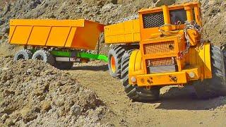 Kirovets K700 6x6 Russian Truck / Globe Liner 6x6 Defect Engine / Mercedes Arocs 6x6 - RC MUDRUNNER
