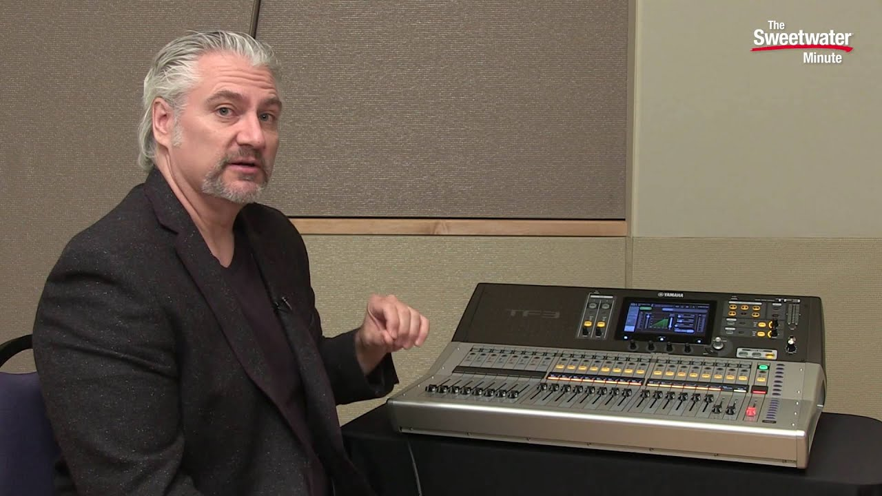 yamaha tf3 digital mixer review by sweetwater youtube. Black Bedroom Furniture Sets. Home Design Ideas