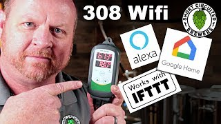 Inkbird ITC 308 WiFi Smart Thermostat   Review and Automation with Google Home and IFTTT