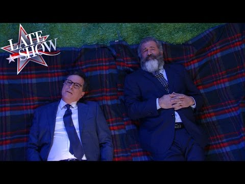Mel Gibson And Stephen Ask The Big Questions
