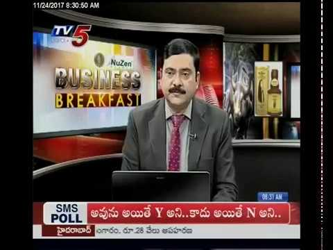 24th November 2017 TV5 News Business Breakfast