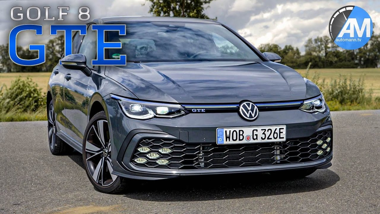 Golf 8 Gte 245hp Drive Sound By Automann Youtube