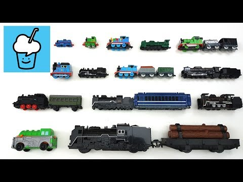Steam Train for children kids with tomica トミカ VooV ブーブ 変身 Thomas the Tank Engine