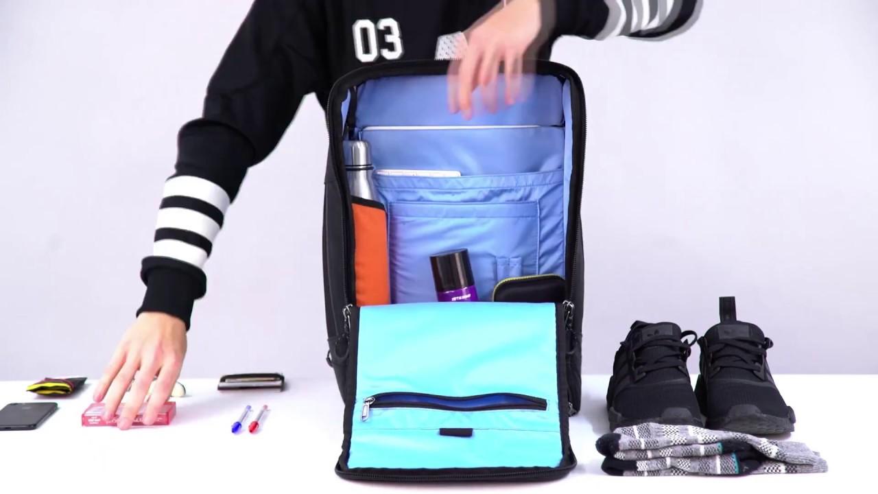 pinqponq    CUBIK LARGE    packing skills - YouTube af26217099f2d