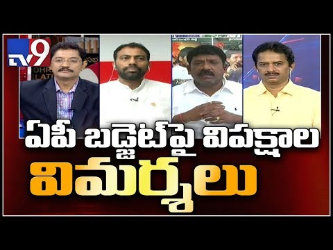 Opposition criticizes Andhra Pradesh budget || Election Watch - TV9